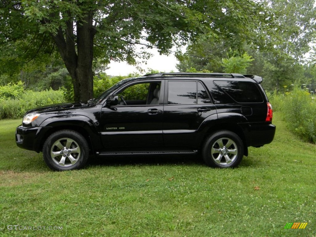 Black 2007 Toyota 4runner Limited 4x4 Exterior Photo