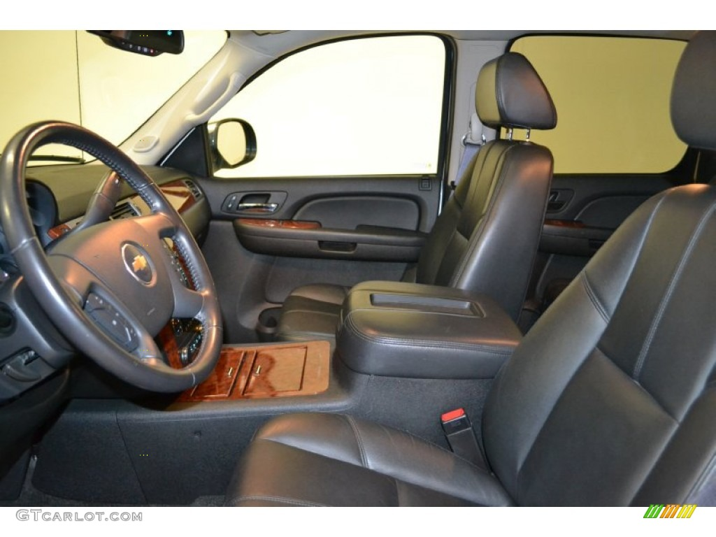 chevrolet avalanche interior ebony - photo #21