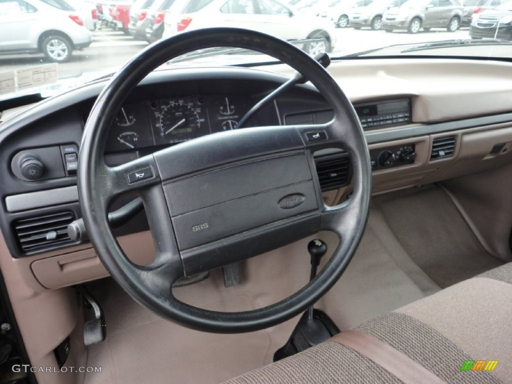 beige interior 1995 ford f150 xlt regular cab 4x4 photo