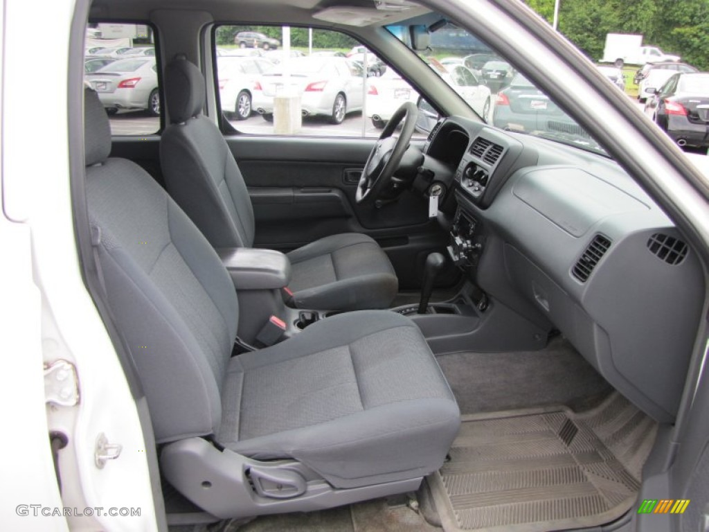 gray interior 2001 nissan frontier xe v6 crew cab photo. Black Bedroom Furniture Sets. Home Design Ideas