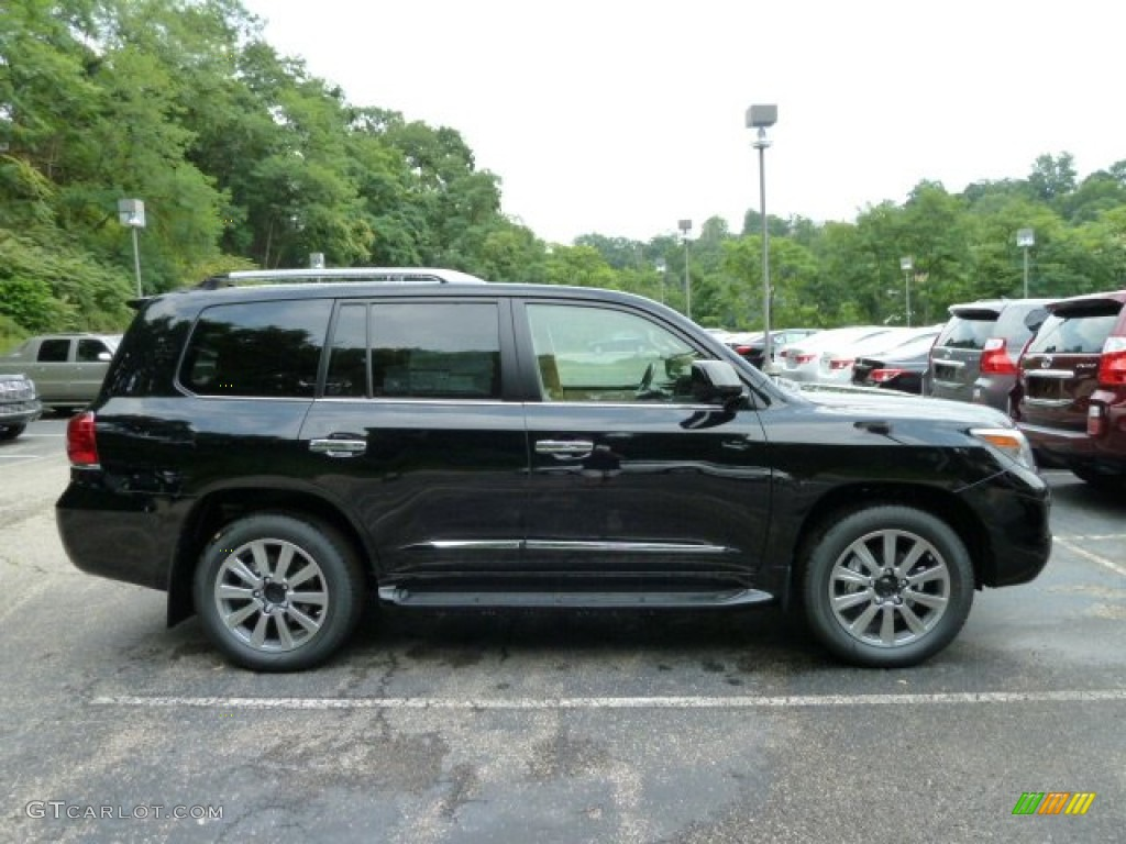 Black Onyx 2011 Lexus LX 570 Exterior Photo #52142374