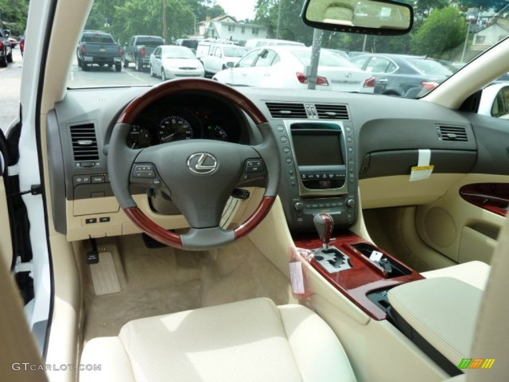 parchment/birds eye maple interior 2011 lexus gs 350 awd photo