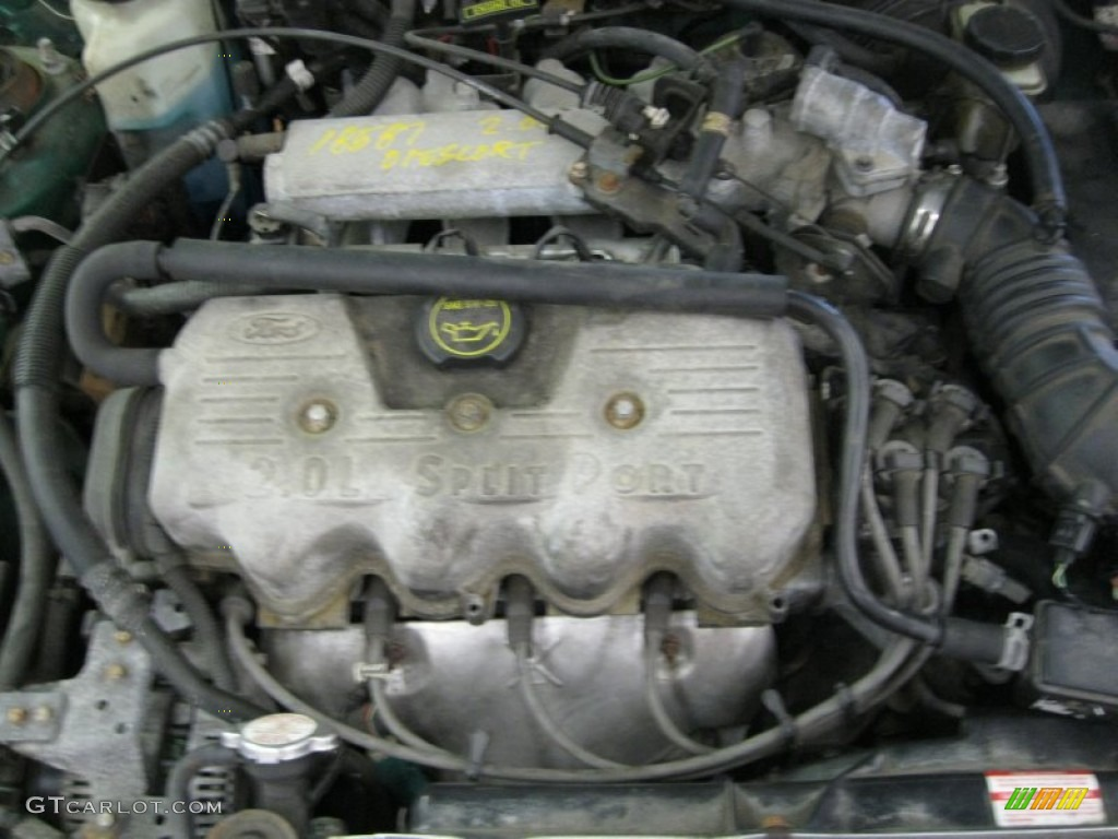 2002 ford escort se sedan 2 0 litre sohc 8 valve 4 cylinder engine photo