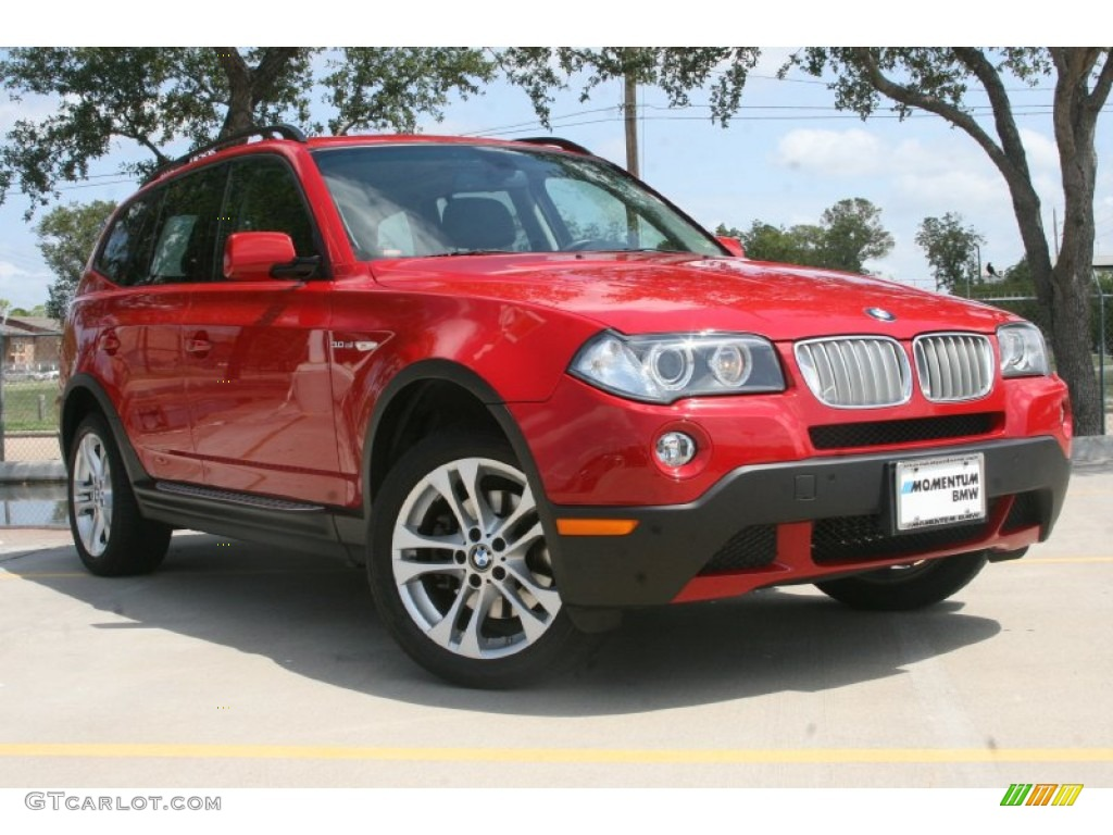 2008 crimson red bmw x3 52150282 car color galleries. Black Bedroom Furniture Sets. Home Design Ideas