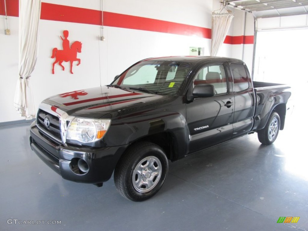 2005 black sand pearl toyota tacoma access cab 52149873. Black Bedroom Furniture Sets. Home Design Ideas