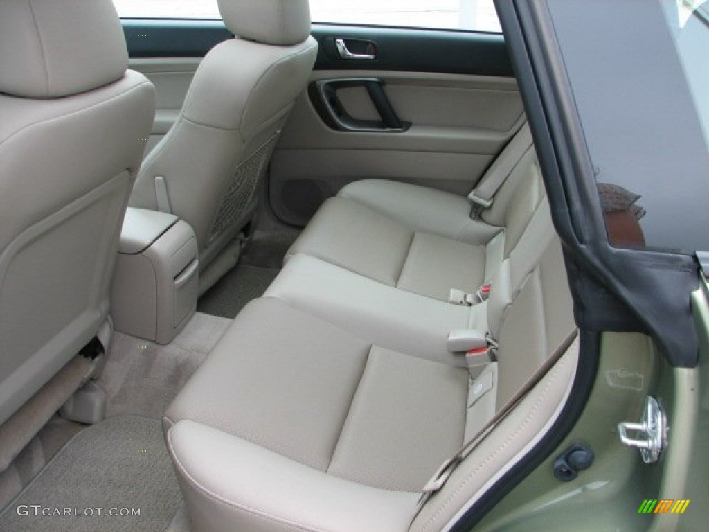 taupe leather interior 2007 subaru outback 3 0r l l bean. Black Bedroom Furniture Sets. Home Design Ideas