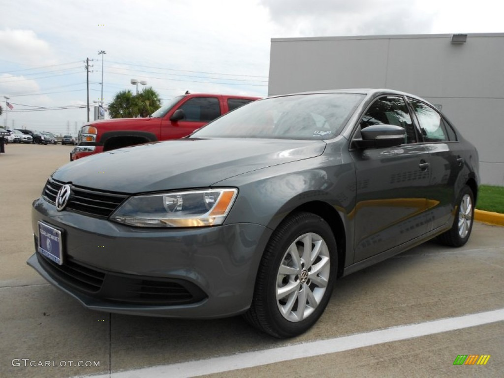 platinum gray metallic 2012 volkswagen jetta se sedan exterior photo 52177957. Black Bedroom Furniture Sets. Home Design Ideas