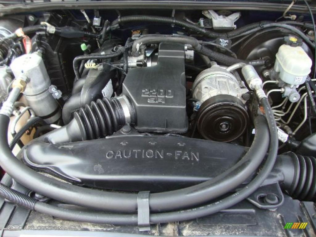 1997 chevy s10 22 engine