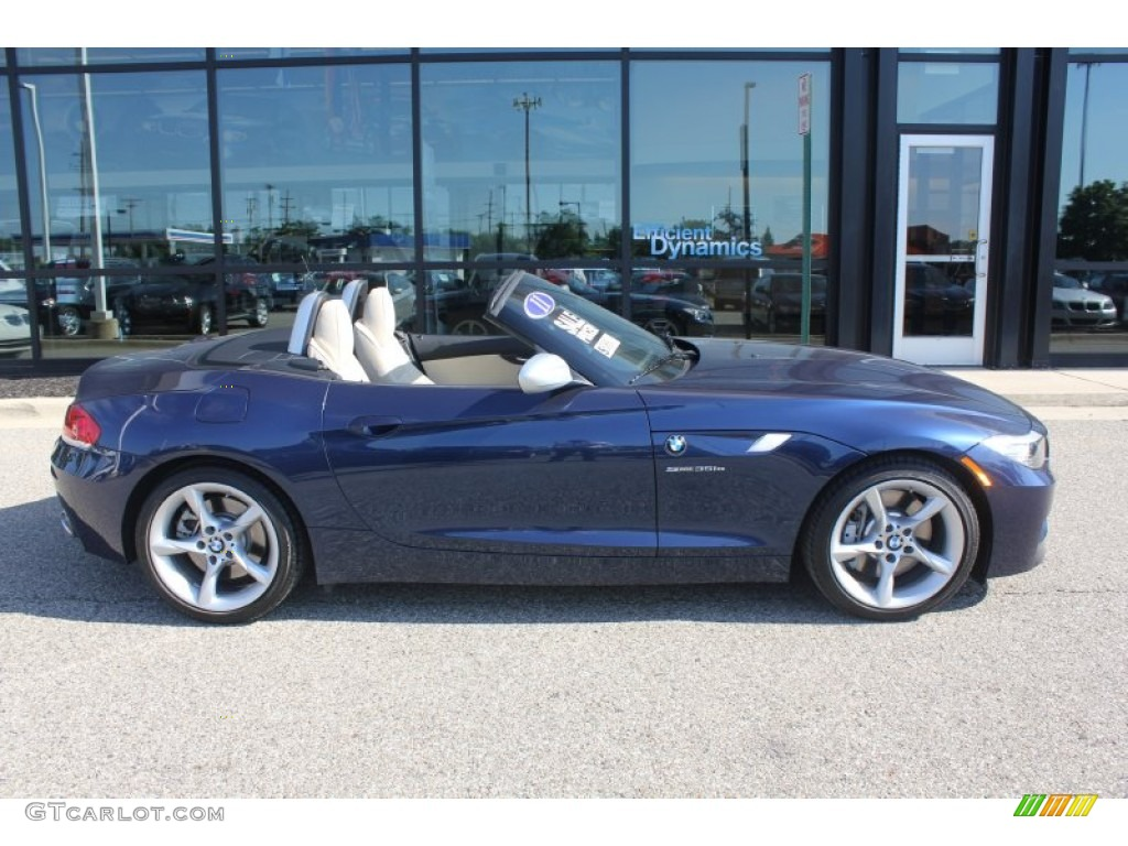 Deep Sea Blue Metallic 2011 Bmw Z4 Sdrive35is Roadster