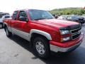 2006 Victory Red Chevrolet Silverado 1500 Z71 Extended Cab 4x4  photo #7