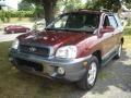 2004 Merlot Red Hyundai Santa Fe GLS  photo #1