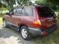 2004 Merlot Red Hyundai Santa Fe GLS  photo #3
