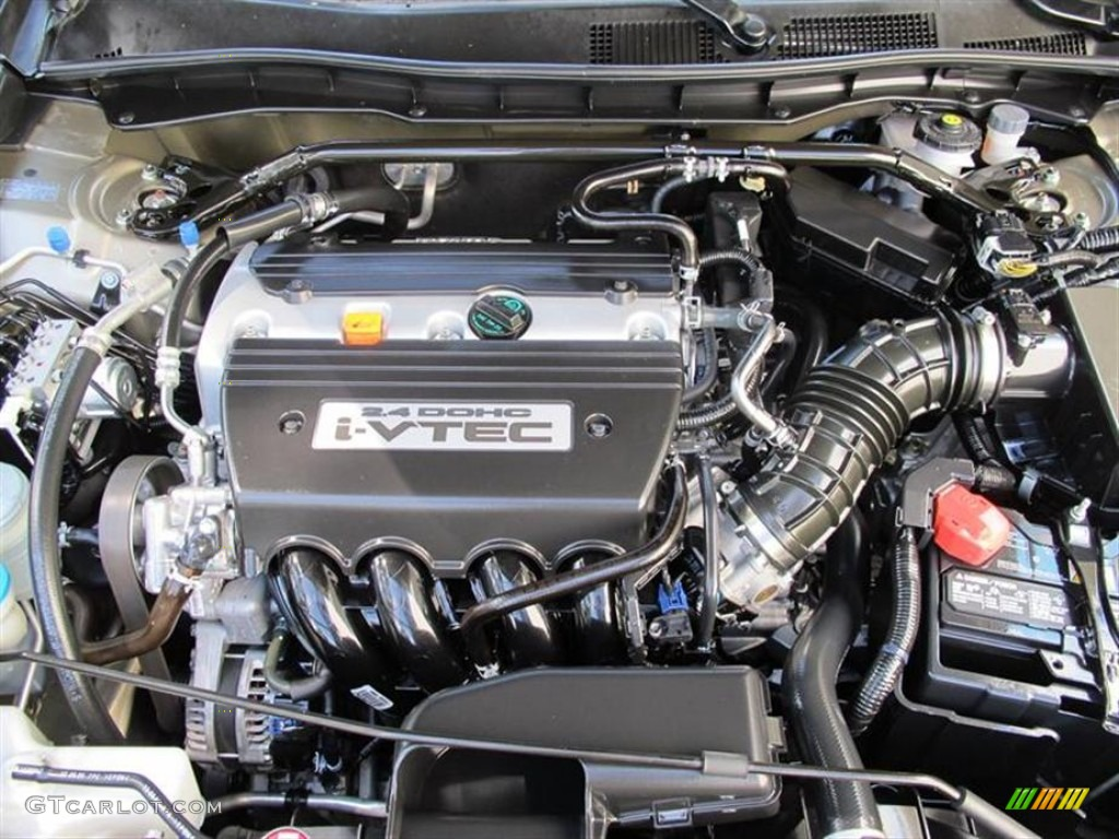 2009 Honda Accord Ex L Sedan 2 4 Liter Dohc 16 Valve I Vtec 4 Cylinder Engine Photo 52189636