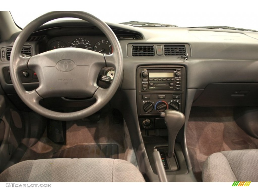 2001 toyota camry ce gray dashboard photo 52191733. Black Bedroom Furniture Sets. Home Design Ideas