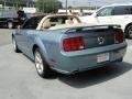2007 Windveil Blue Metallic Ford Mustang GT Premium Convertible  photo #8