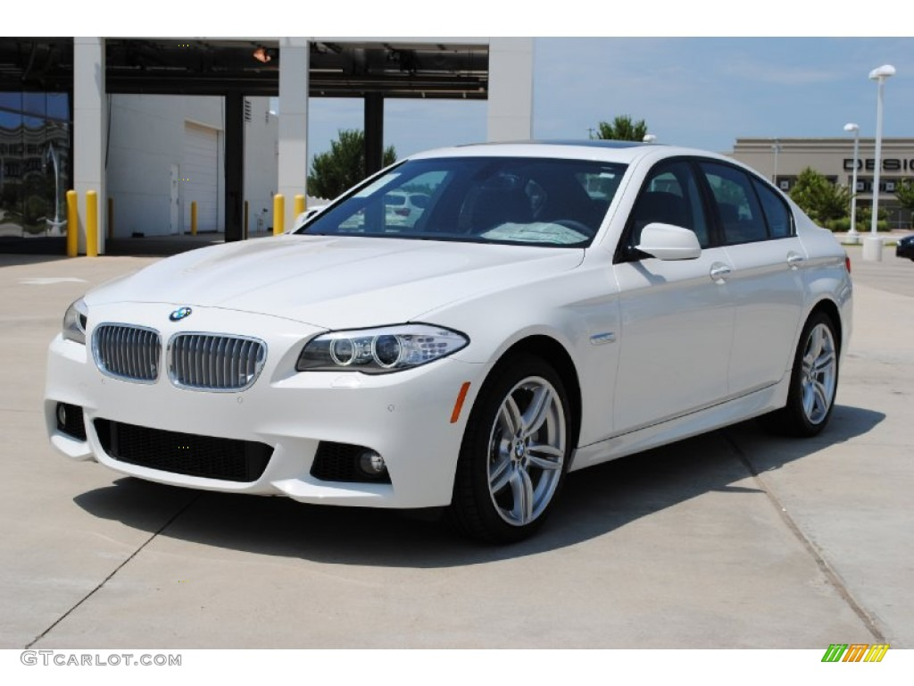 alpine white 2011 bmw 5 series 550i sedan exterior photo 52193695. Black Bedroom Furniture Sets. Home Design Ideas