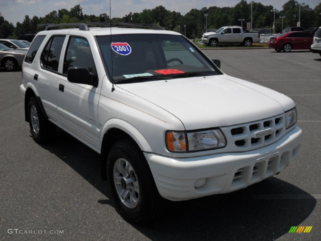 Alpine white 2001 isuzu rodeo ls 4wd exterior photo 52194889 gtcarlot com