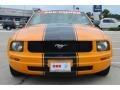 2007 Grabber Orange Ford Mustang V6 Premium Convertible  photo #2