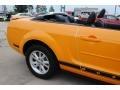 2007 Grabber Orange Ford Mustang V6 Premium Convertible  photo #9