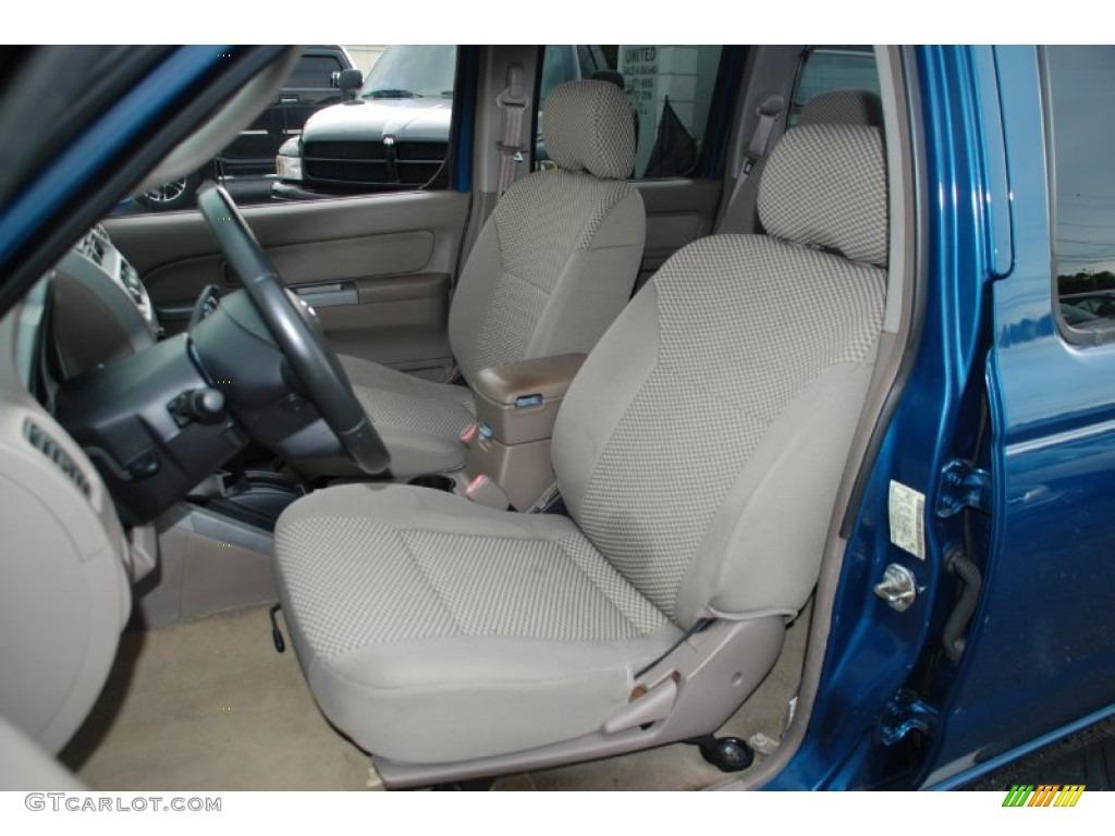 Beige Interior 2002 Nissan Frontier Se Crew Cab Photo 52198321