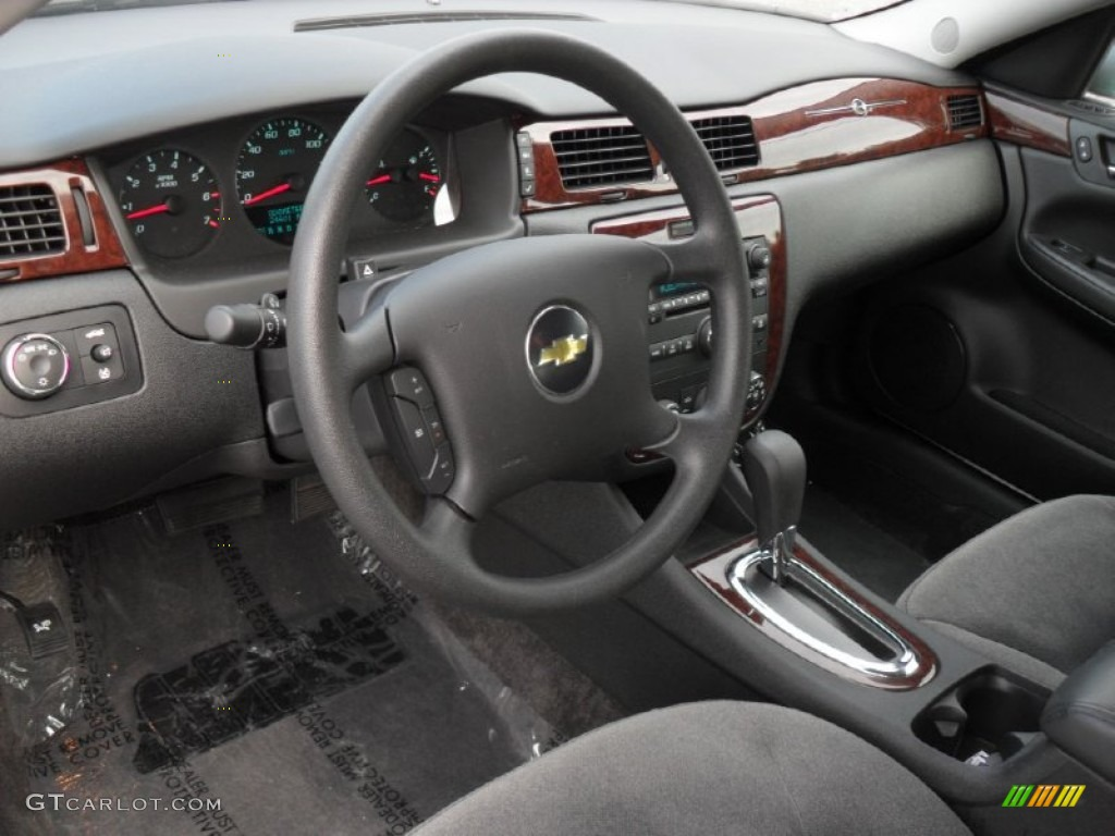 Ebony Interior 2011 Chevrolet Impala Ls Photo 52198645