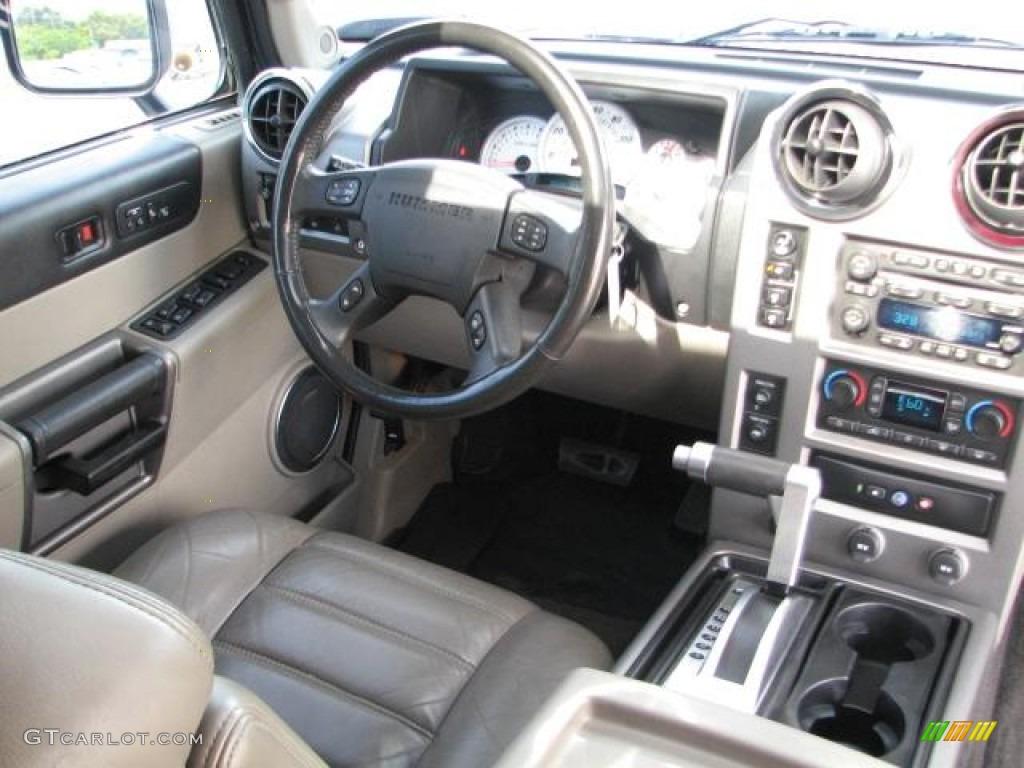 Wheat Interior 2003 Hummer H2 Suv Photo 52203013