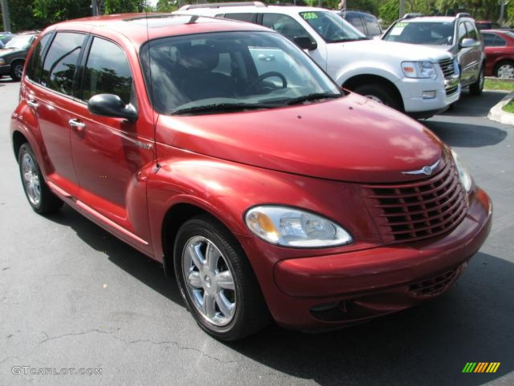 2003 inferno red pearl chrysler pt cruiser limited. Black Bedroom Furniture Sets. Home Design Ideas