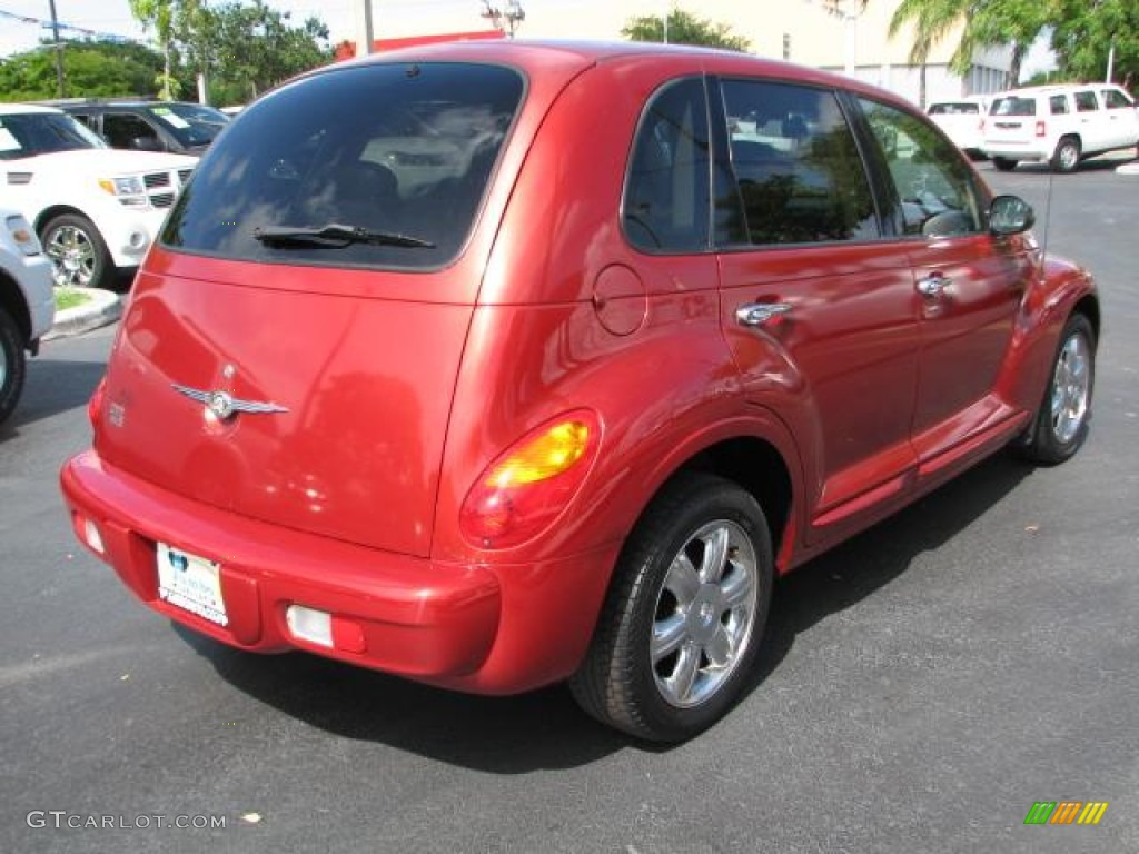 2003 inferno red pearl chrysler pt cruiser limited 52201243 photo 9 gtcarlot com car color galleries gtcarlot com