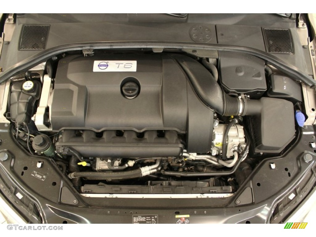 2009 Volvo S80 T6 AWD 3.0 Liter Twin-Turbo DOHC 24-Valve Inline 6 Cylinder Engine Photo ...