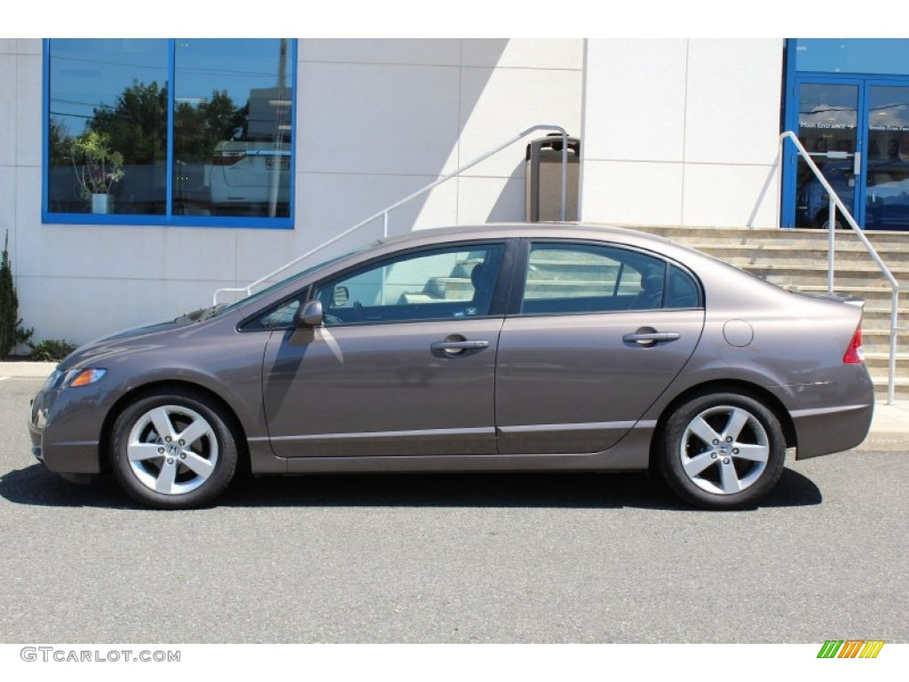 Nice Urban Titanium Metallic 2011 Honda Civic LX S Sedan Exterior Photo #52213255