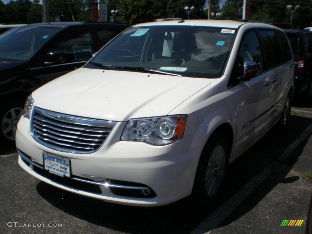2011 chrysler town country limited stone white color black light. Cars Review. Best American Auto & Cars Review