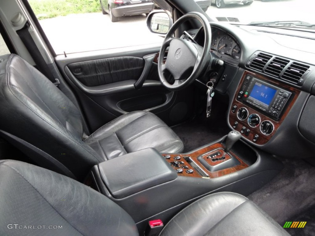 2001 mercedes benz ml 320 4matic interior photo 52216834 for Interior mercedes vito