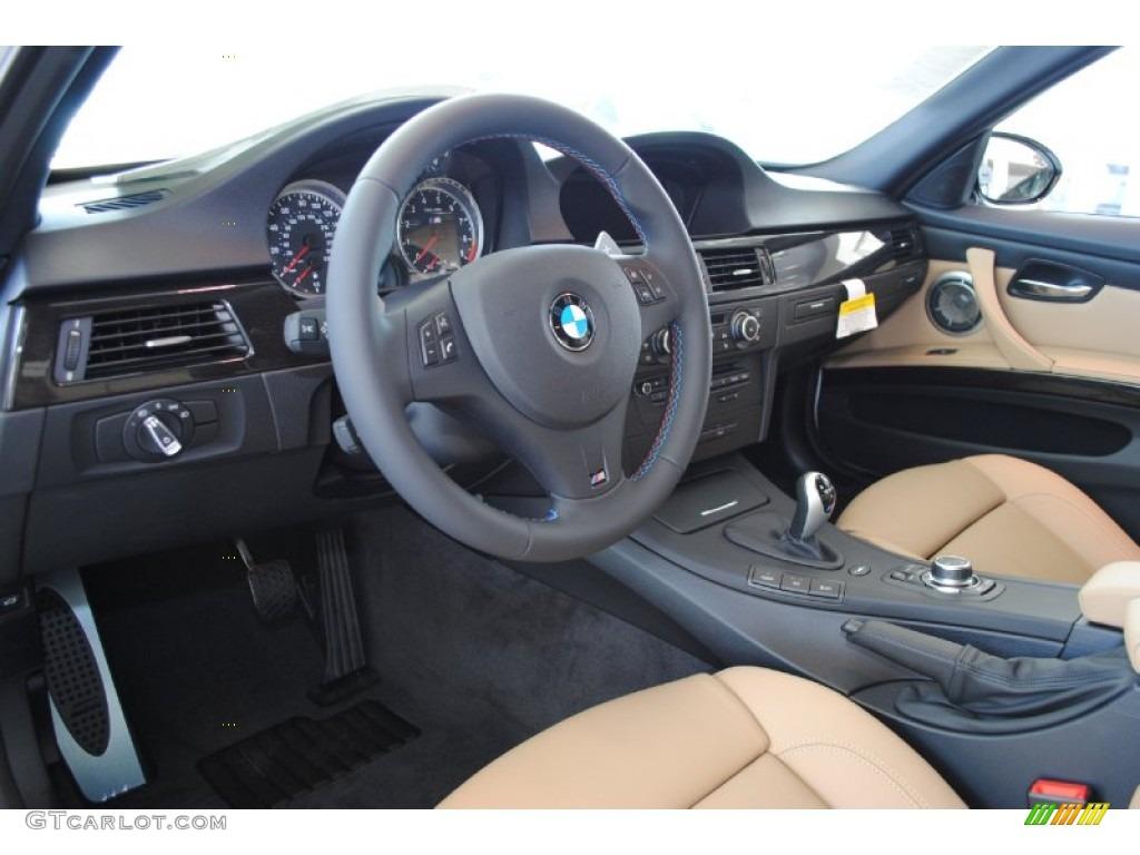 Bamboo Beige Novillo Leather Interior 2011 BMW M3 Sedan ...  Bamboo Beige No...