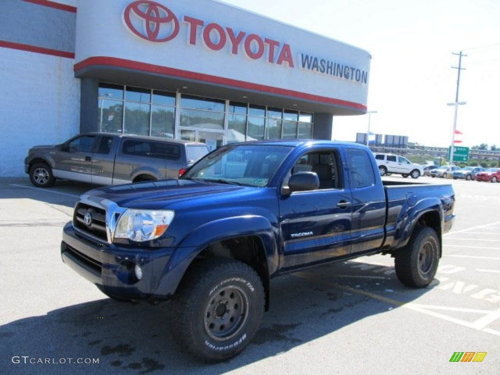 2005 indigo ink blue pearl toyota tacoma v6 trd access cab. Black Bedroom Furniture Sets. Home Design Ideas