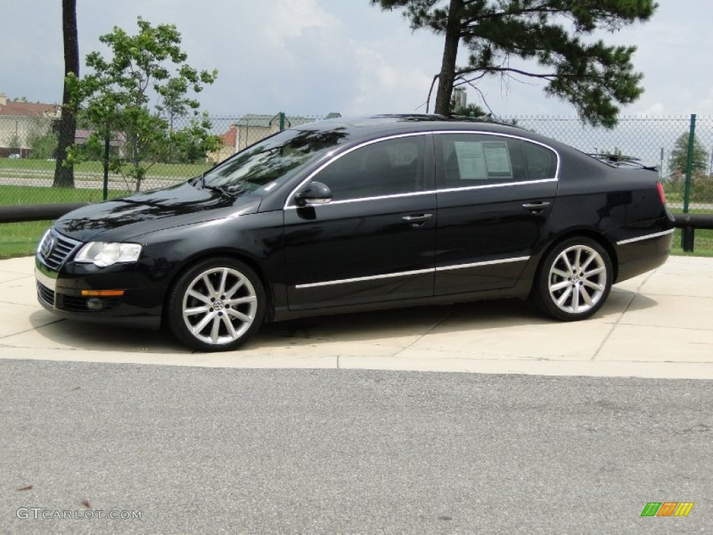 deep black 2007 volkswagen passat 2 0t sedan exterior photo 52223704. Black Bedroom Furniture Sets. Home Design Ideas