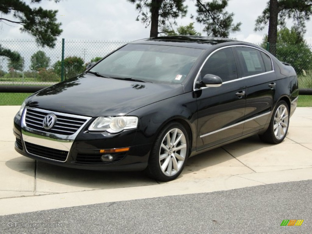 deep black 2007 volkswagen passat 2 0t sedan exterior photo 52223716. Black Bedroom Furniture Sets. Home Design Ideas