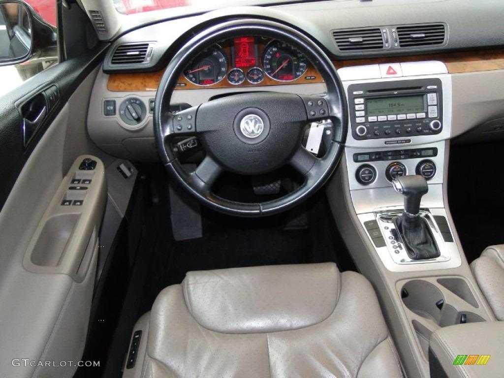Black interior 2007 volkswagen passat 2 0t sedan photo 52223866