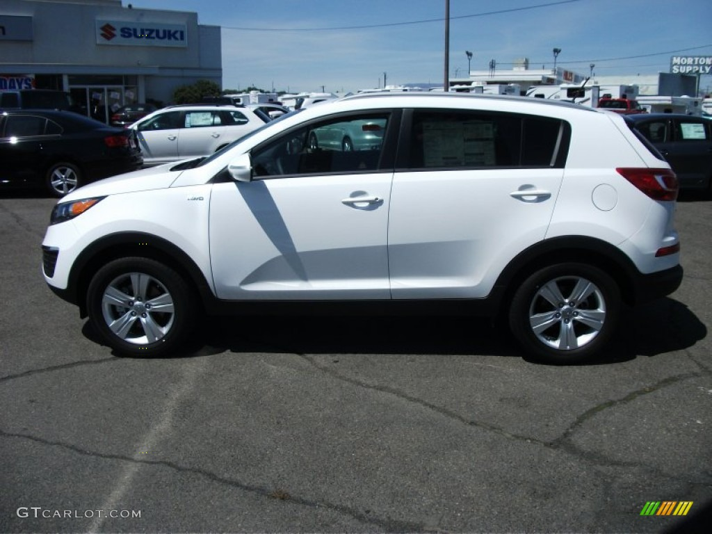 2011 clear white kia sportage lx awd 52200659 photo 3 car color galleries. Black Bedroom Furniture Sets. Home Design Ideas
