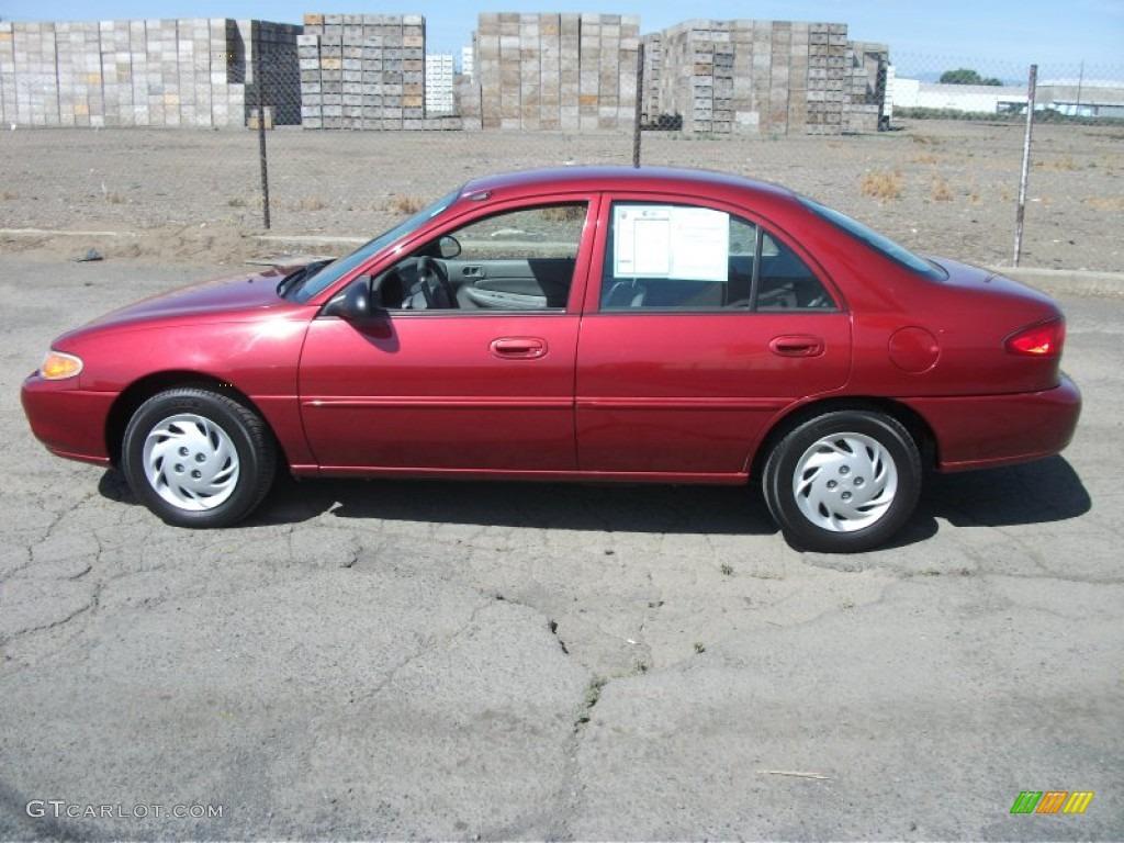 toreador red metallic 1998 mercury tracer ls sedan. Black Bedroom Furniture Sets. Home Design Ideas