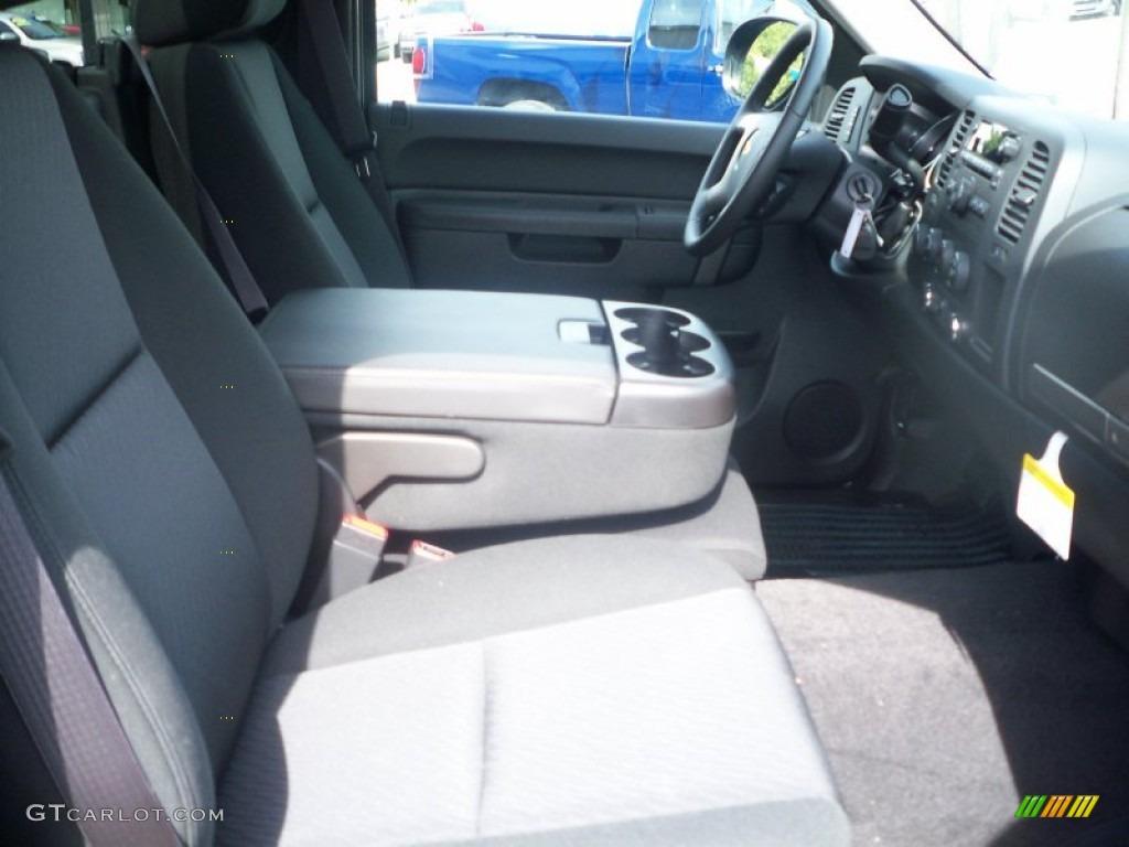 2011 Silverado 1500 LT Regular Cab 4x4 - Black / Ebony photo #9