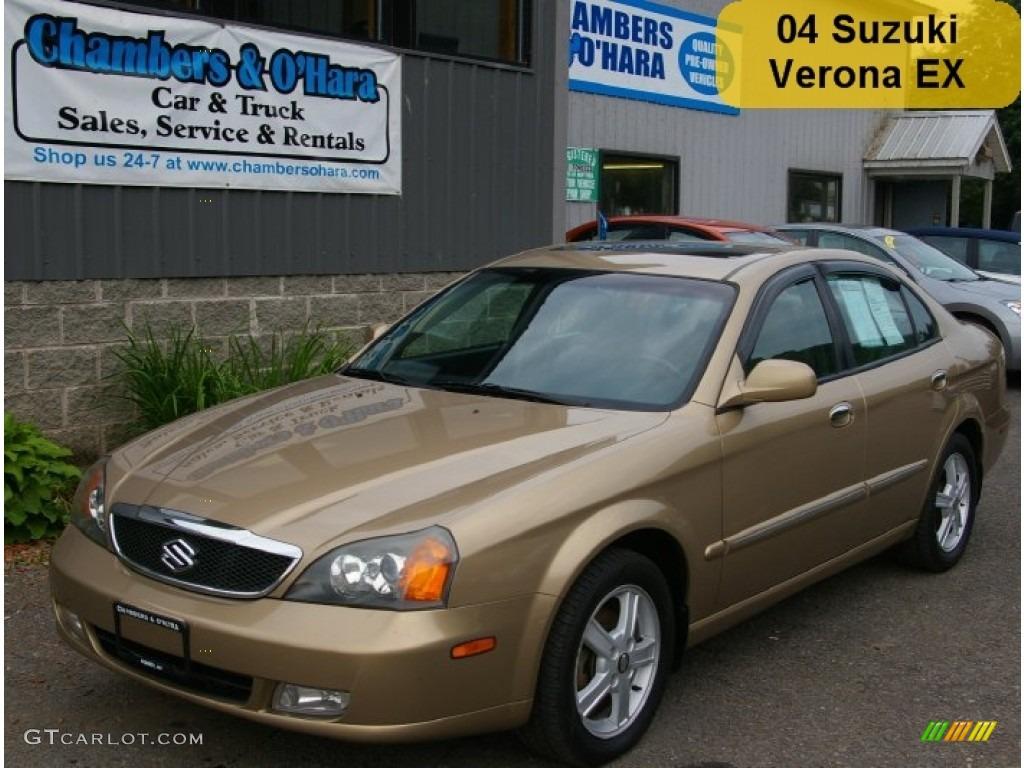 2004 Harvest Gold Metallic Suzuki Verona Ex 52200823 Photo 15
