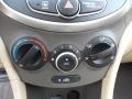 Controls of 2012 Accent GLS 4 Door