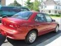 1999 Cayenne Red Metallic Chevrolet Cavalier Sedan  photo #2