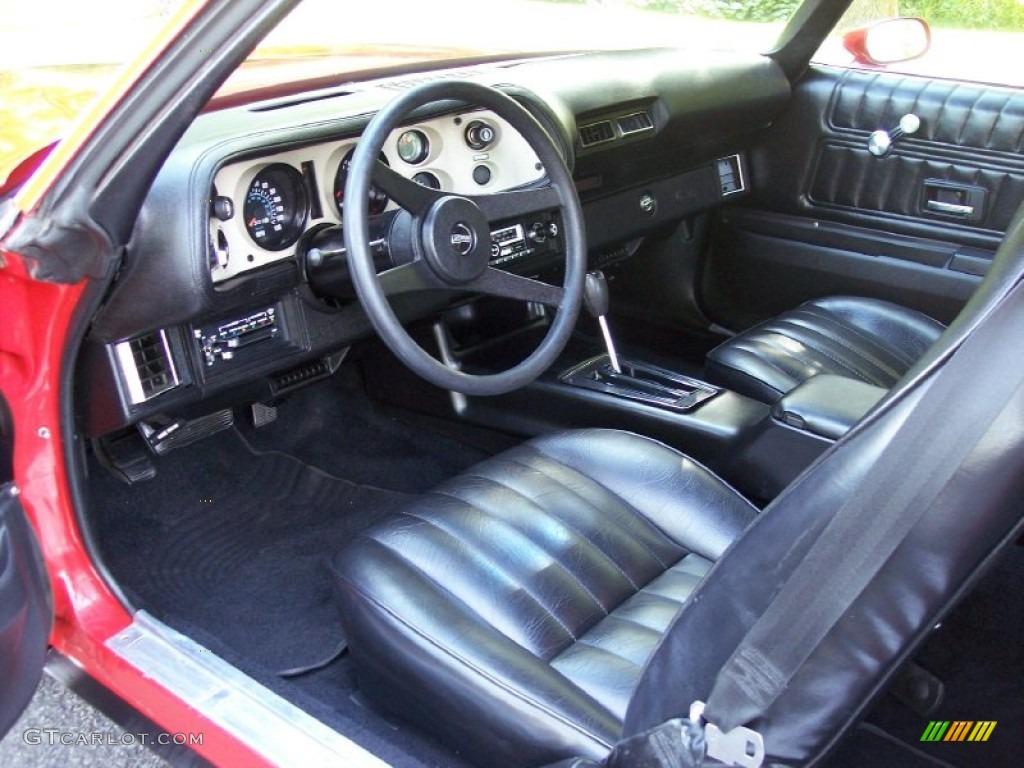 black interior 1977 chevrolet camaro z28 coupe photo 52251700