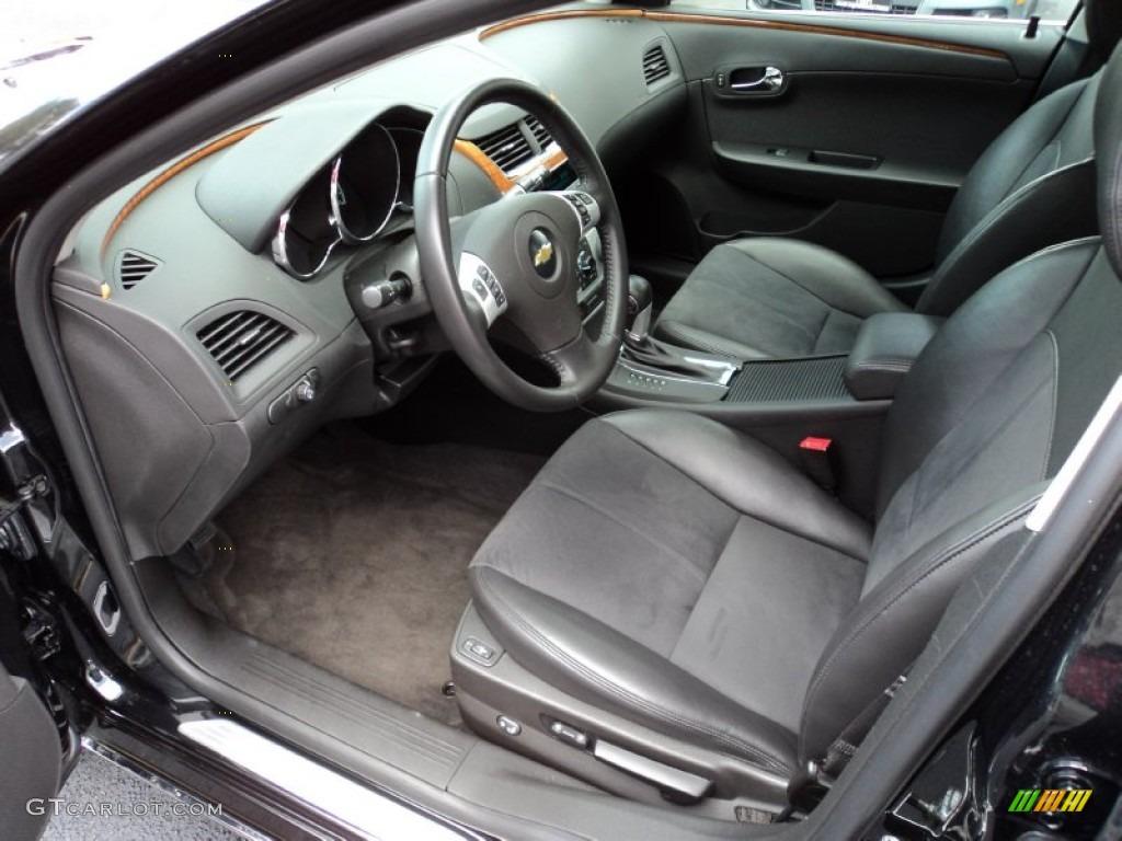 Ebony Interior 2011 Chevrolet Malibu Lt Photo 52252516