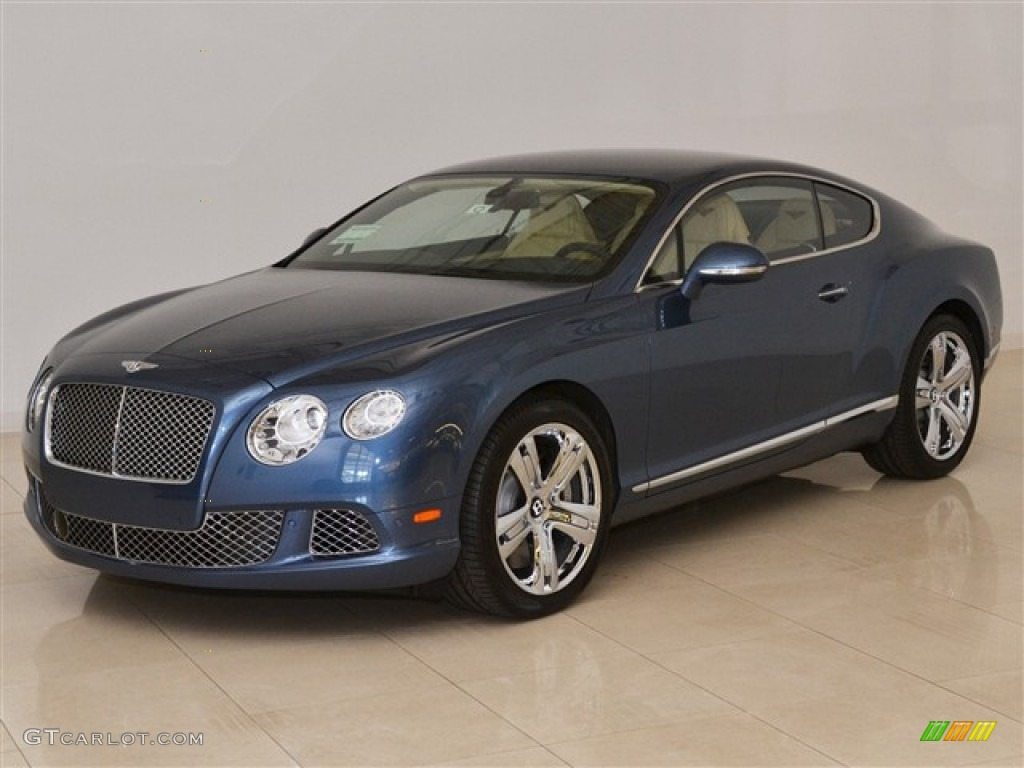 2012 Blue Crystal Bentley Continental Gt 52255461