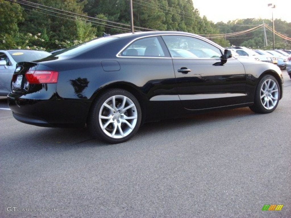 Brilliant Black 2010 Audi A5 2 0t Quattro Coupe Exterior