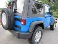2011 Cosmos Blue Jeep Wrangler Sport S 4x4  photo #3