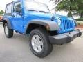 2011 Cosmos Blue Jeep Wrangler Sport S 4x4  photo #4