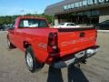 2005 Victory Red Chevrolet Silverado 1500 Regular Cab 4x4  photo #2